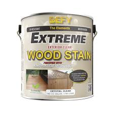 Thompsons Waterseal Deck Wash Msds by Defy Extreme 1 Gallon Exterior Wood Stain Crystal Clear