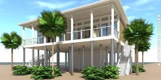 100 Modern Beach House Floor Plans Sandcastle Duplex Plan
