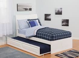 Kids Twin Trundle Bed Frame Bed and Shower Twin Trundle Bed