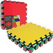 Norsk Foam Floor Mats by Norsk 240275 Reversible Interlocking Foam Floor Mat For Playroom