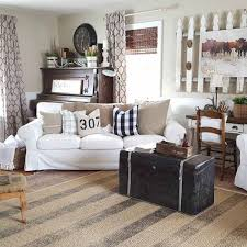 50 Rustic Farmhouse Living Room Decor Ideas 22