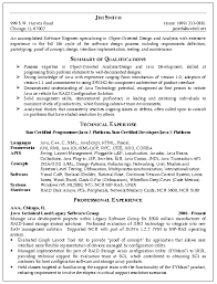 Software Engineering Resume Example For Professional The Can Be A Reference