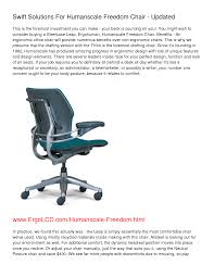Human Scale Freedom Chair Manual by Leveraged Freedom Chair Design 100 Images The Design And