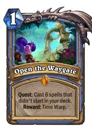 time warp quest mage aka exodia mage deck list guide hearthstone
