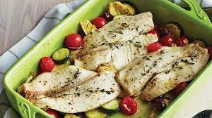 recette cuisine poisson poisson blanc à la méditerranéenne recettes iga courgettes