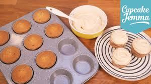 Salted Caramel Cupcake Sponge Recipe