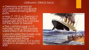 When Did The Lusitania Sink by Empires And Causes Of The First World War Ppt Download