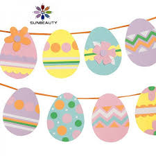 Easter Egg Garland Suppliers And Manufacturers At Alibaba