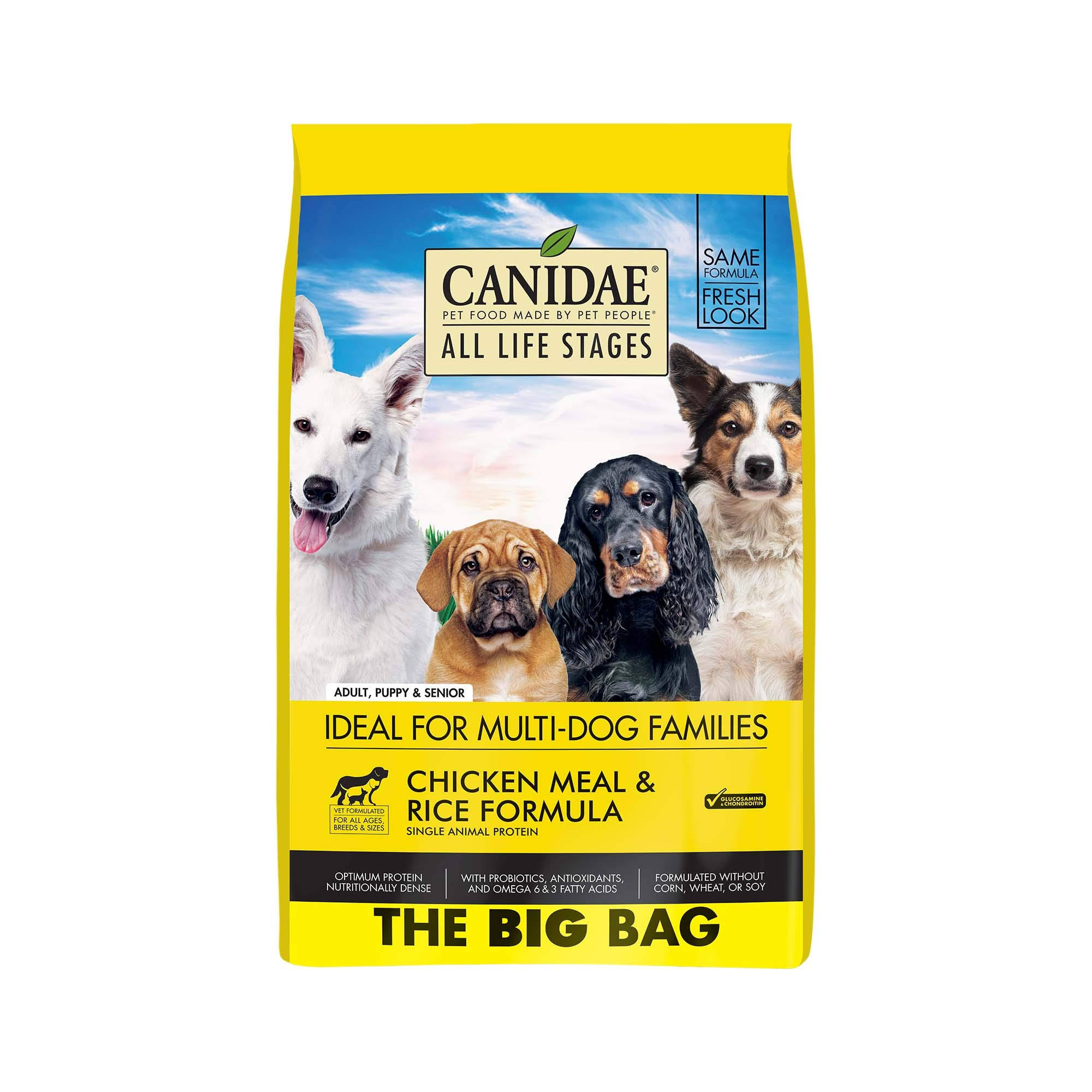Canidae All Life Stages Dog Dry Food Chicken Meal & Rice 44 lbs