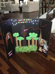 Ummmmy Daughters Summer Project Was To Make A Poster Board For One Of Her Reading Books Lets Just Say That She And My LOML Created Display