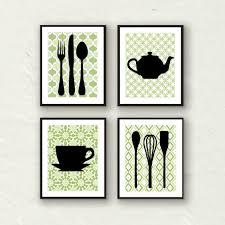 Great Kitchen Art Ideas Fork Spoon Decor Utensil Modern