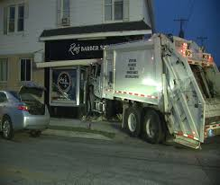 100 Truck Shop Video Shows Erie Garbage Crash Into Barber Erie News