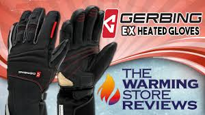 gerbing 12v heated ex glove review youtube