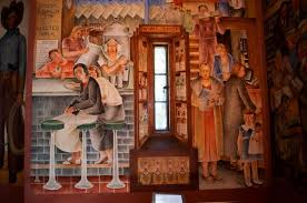 Coit Tower Mural City Life by Coit Tower Murals City Life Victor Amautoff Cul Urban