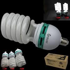 kaimily big 150w e27 5500k photography lighting bulb