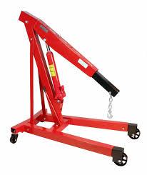 Aluminum Floor Jack 3 Ton by 3 Ton 6000 Lb Engine Hoist Cherry Picker Shop Crane
