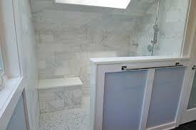 6 X 12 Beveled Subway Tile by Carrara Venato 6 12 U2033 Used In Bathroom The Builder Depot Blog