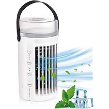tklake tragbarer lüfter der klimaanlage mobiles 4 in 1 klimagerät luftkühler ventilator und luftbefeuchter mit 3 geschwindigkeiten auslaufsicher