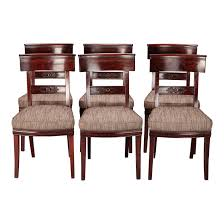 Superior French First Empire Dining Chairs - Set Of 6 | DECASO Baroque Ding Chair Black Epic Empire Set Of 6 Swedish Bois Claire Chairs 8824 La109519 Style Maine Antique Fniture Ruby Woodbridge Arm Stephanie Side Shown In Oak With An Asbury Brown Finish Amish 19th Century Walnut Burl Federal Cane Seat Six Gondola Barstool 210902427 Barchairs And Leather The Khazana Home Austin Crown Mark 2155s Upholstered Casa Padrino Luxury Armrests