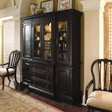 Cheap China Cabinets Cabinet Walmart With Three Drawer In Onyx Black