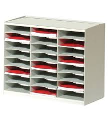 Plastic Desk File Sorter 24 section file organizer in file and mail organizers