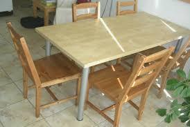 table en bois de cuisine table de cuisine bois 100 images table cuisine pin cool white