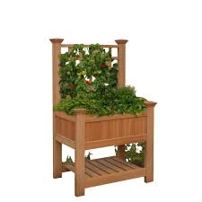 Greenes Fence Raised Garden Bed by Patio Pickers Garden Kit Home Outdoor Decoration