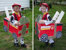DIY Paw Patrol Firetruck Costume | Halloween | Pinterest | Paw ...