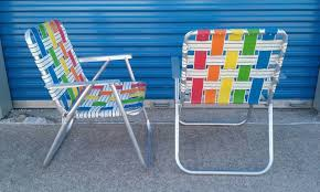 Pair Of Vintage Rainbow Webbed Aluminum Folding Lawn Chairs ... Hampton Bay Chili Red Folding Outdoor Adirondack Chair 2 How To Macrame A Vintage Lawn Howtos Diy Image Gallery Of Chaise Lounge Chairs View 6 Folding Chairs Marine Grade Alinum 10 Best Rock In 2019 Buyers Guide Ideas Home Depot For Your Presentations Or Padded Lawn Youll Love Wayfair Details About 2pc Zero Gravity Patio Recliner Black Wcup Holder Lawnchair Larry Flight Wikipedia Cheap Recling Find Expressions Bungee Sling Zd609