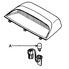 how do i change the third brake light on a 2007 hyndiu sonata i