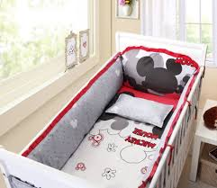 Spongebob Toddler Bedding by Mickey Mouse Bedroom Set Baby Bedding Crib Cot Sets Mickey Mouse
