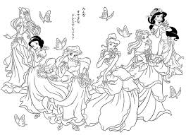 Coloring Pages All Disney Princess At 1000 Images About Blog Books