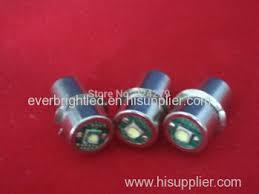 p13 5s 3w cree led flashlight bulb 5 18v for maglite dewalt eb p13