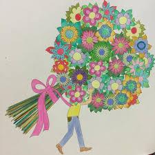My Flower Koreacoloringbook Coloring