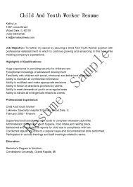 Daycare Resume Examples Worker Sample