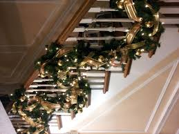 Banister Christmas Garland Garland Banister Maybe Do The Red Plaid ... Christmas Decorating Ideas For Porch Railings Rainforest Islands Christmas Garlands With Lights For Stairs Happy Holidays Banister Garland Staircase Idea Via The Diy Village Decorations Beautiful Using Red And Decor You Adore Mantels Vignettesa Quick Way To Add 25 Unique Garland Stairs On Pinterest Holiday Baby Nursery Inspiring The Stockings Were Hung Part Staircase 10 Best Ideas Design My Cozy Home Tour Kelly Elko