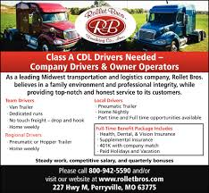 Company Drivers, Owner Operators, Rollet Bros. Trucking Co., Inc. Status Transportation Owner Operator Trucking Dispatcher Andre R Otr Driver Jobs Federal Companies Company Drivers Operators Gilster Mary Lee Cporation Create Brand Your Business Roehljobs The State Of The American Job Best Local Truck Driving In Dallas Tx Image Metro Express Services Best Transport 2018 Media Tweets By Dotline Trans Dotline_trans Twitter Operators Wanted For Trucking And Transport Jobs Oukasinfo Cdl Procurement Director 5 Tips For New Buying First Youtube Brilliant Ideas Of Resume Haul Description