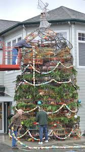 Crab Pot Christmas Trees by Anacortes Chamber Of Commerce To Unveil Crab Pot Christmas Tree
