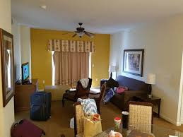 Lake Buena Vista Resort Village Spa Taking From Dining Room Looking At Living