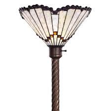 Overstock Tiffany Floor Lamps by Tiffany Floor Lamp Torchiere Cashorika Decoration