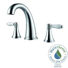 Faucet Handle Puller Youtube by Pfister Kenzo 8 In Widespread 2 Handle Bathroom Faucet In Matte