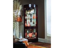 Pulaski Corner Curio Cabinet 20206 by Corner Living Room Furniture With Image 13 Of 20 Cheapairline Info