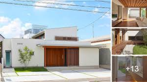 104 Japanese Modern House Plans Open Plan With Green Area Minimal Home Design