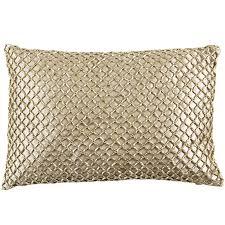 Metallic Beads Lumbar Pillow