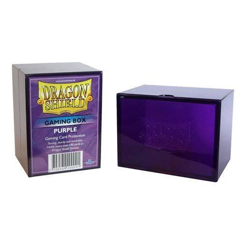 Dragon Shield Card Gaming Box - Purple