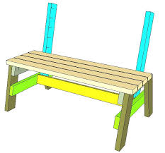 2x4 Park Bench Plans Awesome How to Build A fortable 2—4 Bench and