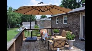 Cantilever Patio Umbrellas Amazon by Clearance Patio Furniture Amazon Patio Furniture Clearance Youtube