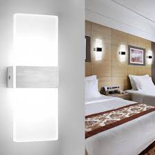 wolketon led wandleuchte innen 12w modern wandle acryl wandbeleuchtung fuer wohnzimmer schlafzimmer treppenhaus flur kaltweiss