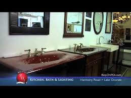 pdi lake oconee kitchen bath lighting showroom