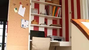 la bonne idée un bureau dans le placard